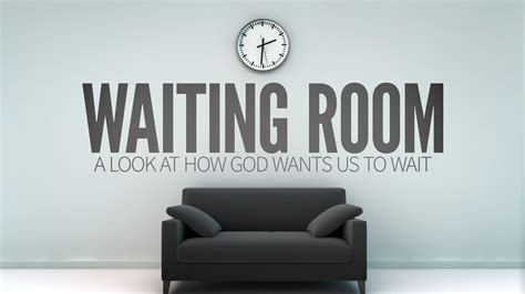 The Waiting Room by Brandedwithlove Waiting Room