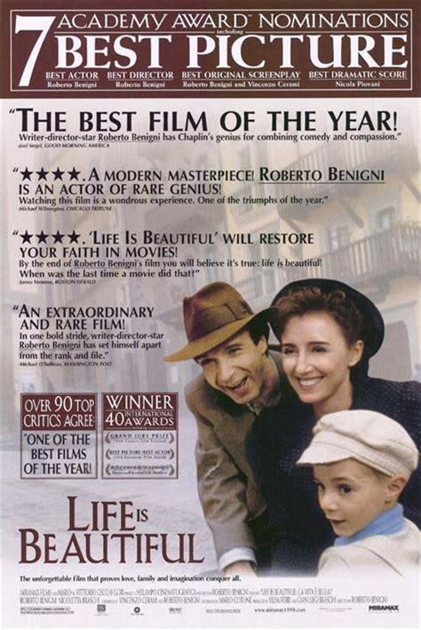 film gratis la vita è bella cinema experts movie of the day la vita 232 bella 1997