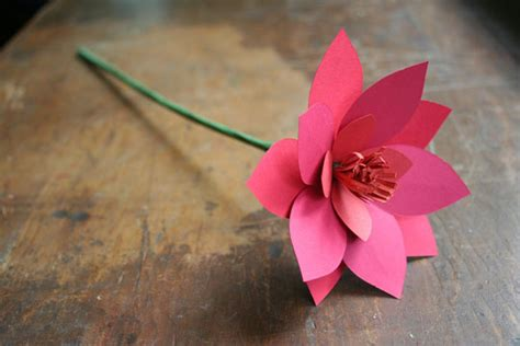 How To Make 3d Flowers Out Of Paper - paper mojo the 187 archive 187 he me he