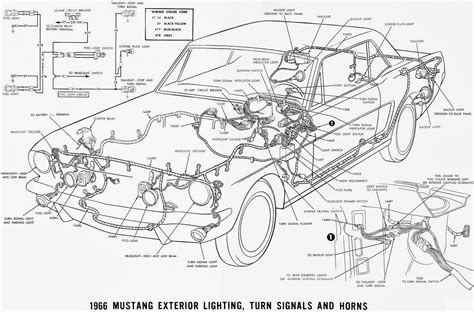 mustang wiring diagram 66 mustang wiring diagram 65 mustang ignition wiring