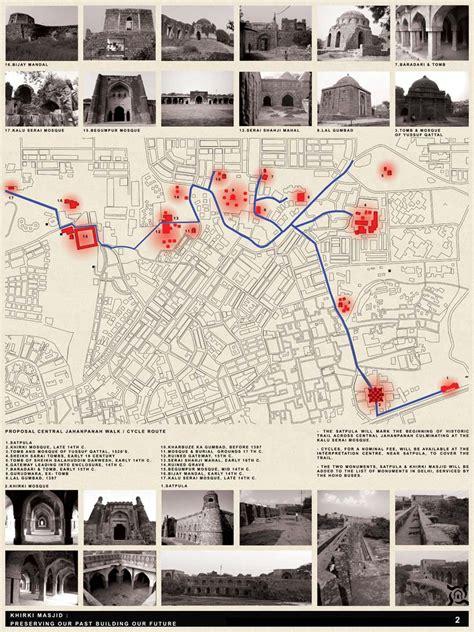designboom khirki masjid khirki masjid preserving our past building our future
