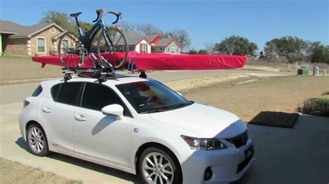lexus ct200h roof rack 2011 lexus ct200h adventure model demonstration youtube