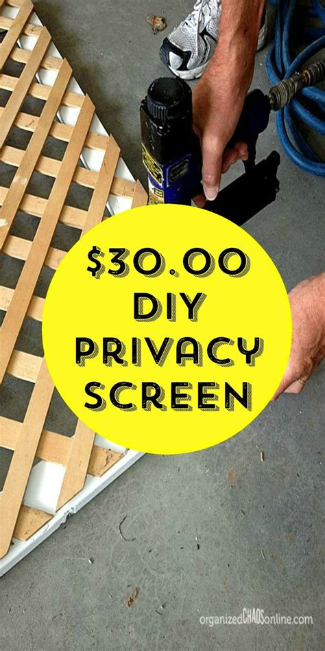 How To Make An Easy Patio Privacy Screen Oasis Porch