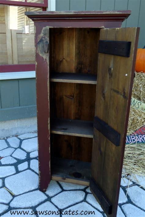 3 Door Cabinet Plans Free