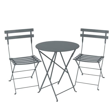 Fermob Bistro Table And Chairs Bistro Setting 60cm Table And 2 Chairs Bistro Outdoor Furniture Jardin