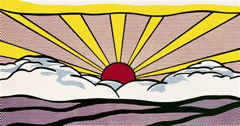 sunrise pattern works ahmedabad lichtenstein roy fine arts after 1945 in america the