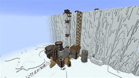 Kaos Of Thrones Nightswatch Castle Black of thrones on lego construction lego