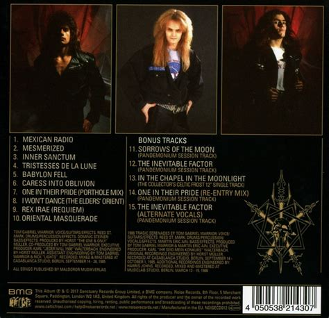 Cd Celtic Into The Pandemonium celtic cd into the pandemonium reedice digibook musicrecords