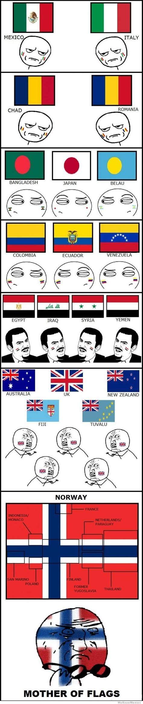 Flag Meme - list of all countries flag memes
