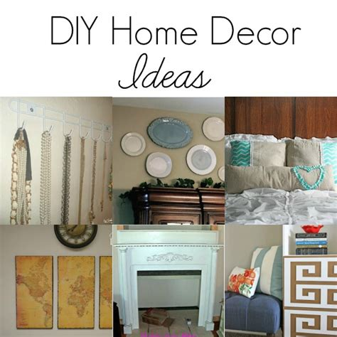 Diy Home Interior Diy Home Decor Ideas The Grant