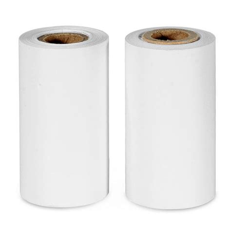 Thermal Paper 58x46 57 30mm thermal paper for 58hb 4 2 bt thermal printer white 2 roll free shipping dealextreme