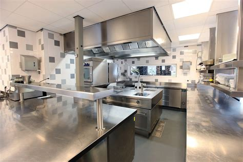 layout commercial kitchen restaurants restaurant kitchen tile walls tile floor floor drain