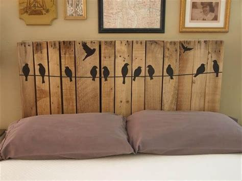 pallet furniture headboard diy pallet headboards project pallet furniture diy
