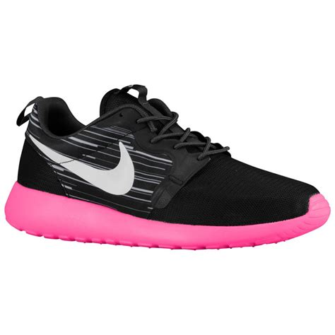 Pink Grey Shoes nike running shoes mens nike roshe one black grey pink