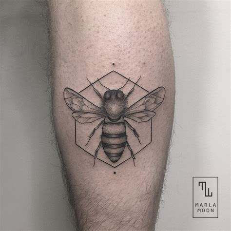 thrilling geometric black and white tattoos 2 fubiz media