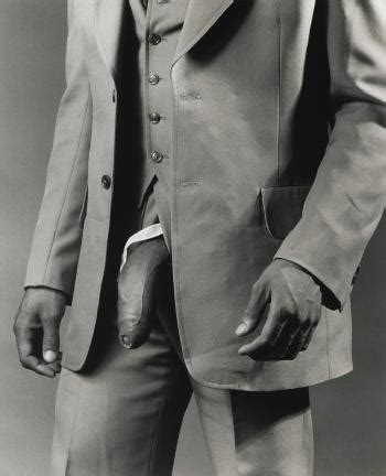 robert mapplethorpe the black man in a polyester suit by robert mapplethorpe blouin art sales index