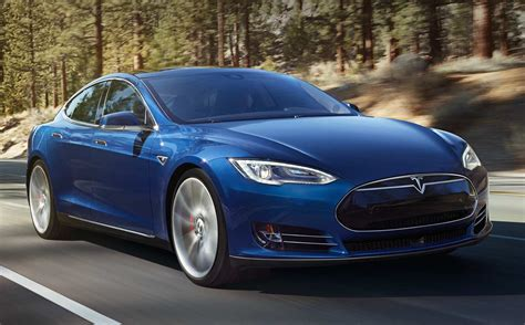 Tesla Blue Tesla Model S 70d New Entry Level With Awd 329 Hp