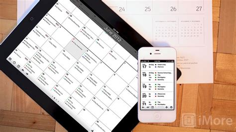 agenda calendar  iphone  ipad review imore