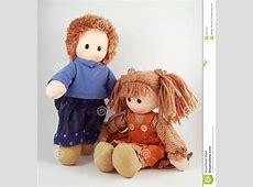 A Couple Dolls, Rag Doll, Fabric Doll Stock Photo - Image ... Rag Doll Drawing