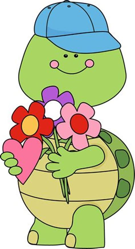 turtles valentines s day turtle with flowers s