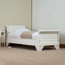 White Single Sleigh Bed 1000 Images About White Sleigh Bed On Pinterest Sliding Barn Doors White Shutters And Beds