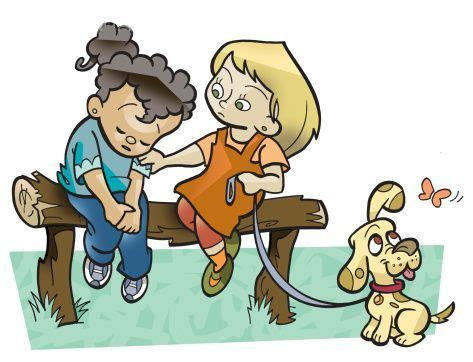 Helping Friends Clipart