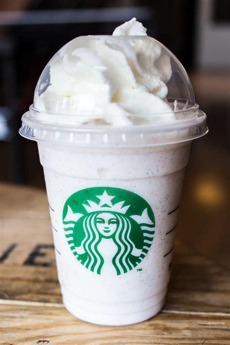 Vanilla Coffee Frappuccino vanilla bean frappuccino with caramel