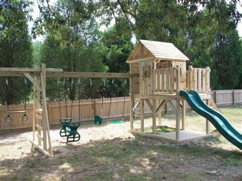 swing virginia backyard playground custom wooden swing sets playsets
