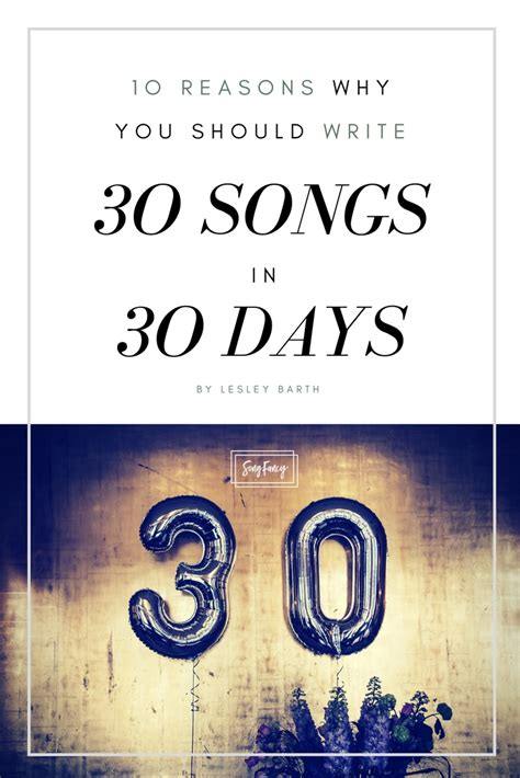 worship songwriting tips 30 days to better writing books 10 reasons why you should write 30 songs in 30 days
