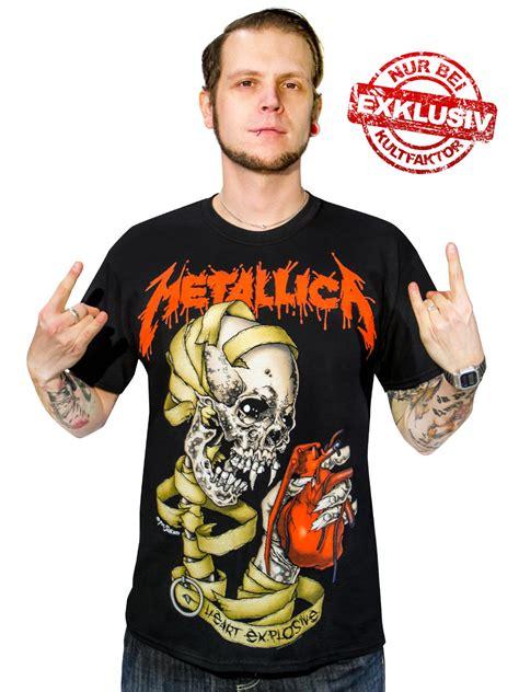 T Shirt 100 Deutschland Limited metallica explosive t shirt limited edition