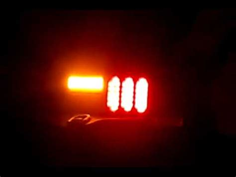 fox body led tail lights fox body mustang led tail light with standard turn youtube