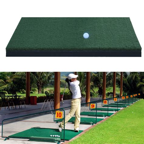 golf backyard practice golf practice mat hitting grass driving holder