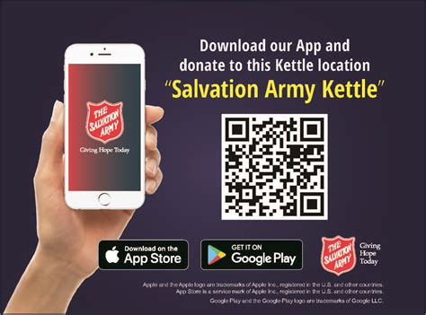 Salvation Army Search Salvation Army Kettle App Offers Mobile Solution To Giving The Salvation Army In
