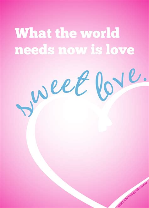 what the world needs now is books sweet printable