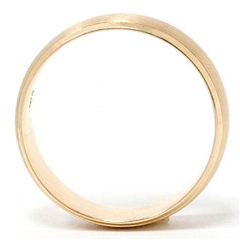 mens 14k gold 8mm beveled brushed wedding ring band new ebay