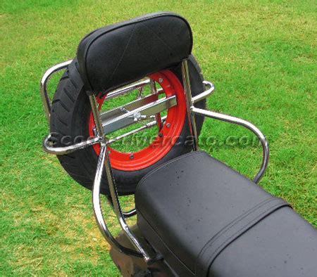 Aksesoris Vespa Rack Blkg 3in1 1 cp048o accessory rack rear folding with backrest and wheel carrier lf vespa scootermercato