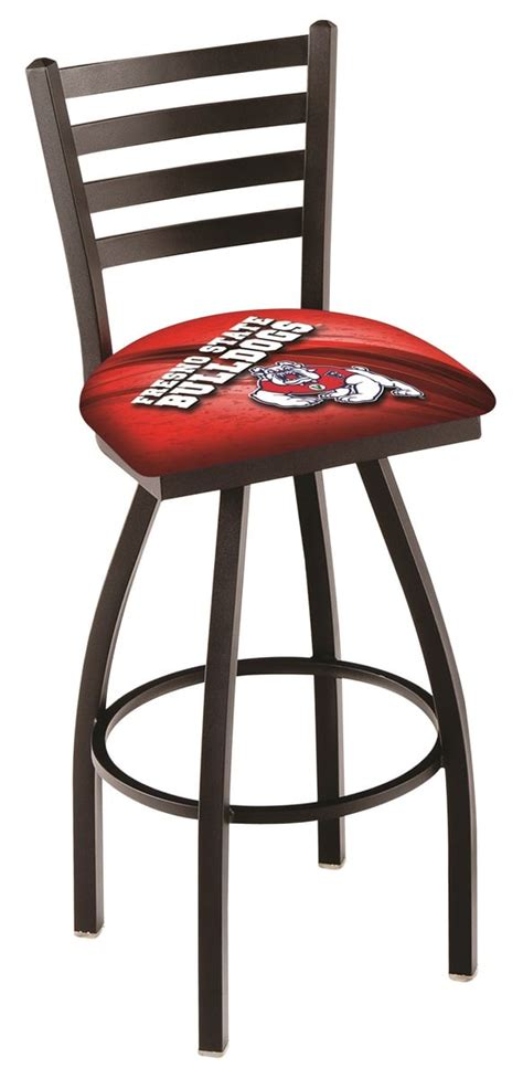 bar stools fresno ca fresno state spectator chair w official college logo