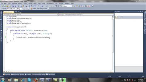 visual studio asp net tutorial for beginners asp net tutorial for beginners part 5 youtube