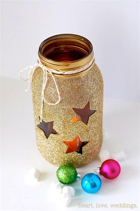 diy gold glitter jars diy gold glitter jars craft ideas