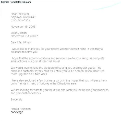 business thank you letter spacing business thank you letter format sle templates