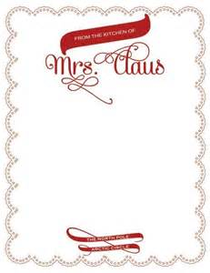 Official Santa Claus Letterhead Letterhead And Shops On