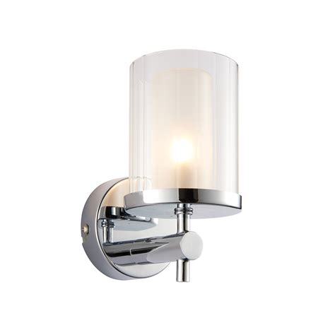 Endon Bathroom Lights Endon Britton Bathroom Wall Light In Chrome Finish 51885 Lighting From The Home Lighting Centre Uk