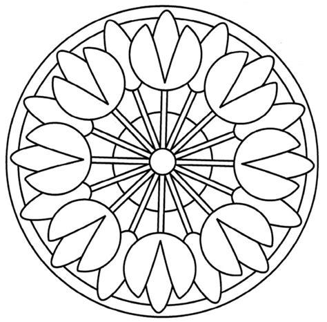 imagenes mandalas para niños 196 dibujos de mandalas para colorear f 225 ciles y dif 237 ciles