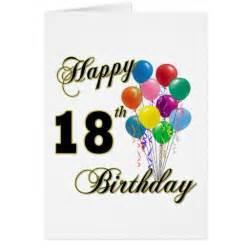 happy 18th birthday gifts zazzle