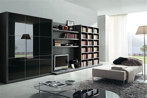 modern shelves for living room modern bookcase for living room by zalf motiq home decorating ideas