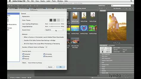 tutorial photoshop youtube cs6 using adobe bridge in photoshop cs6 lynda com tutorial