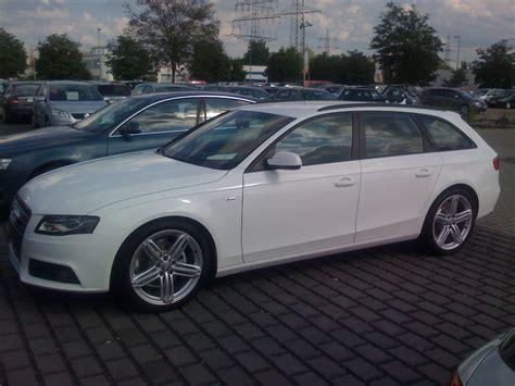 Audi A4 Avant Wei S Line by Img 0198 Bilder A4 Avant S Line Weiss Optikpaket