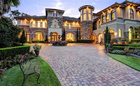 mediterranean mansion 10 000 square foot mediterranean stone stucco mansion in