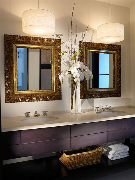 Hanging Lights In Bathroom 12 Beautiful Bathroom Lighting Ideas