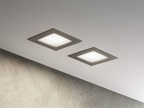 faretti per controsoffitto a led faretto a led da incasso per controsoffitti plain olev